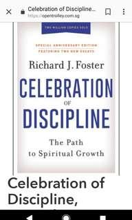 New Hardback book : Celebration of Discipline, 2018 Edition, Richard Foster