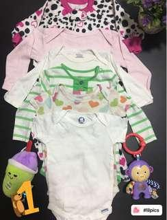 Preloved combo / bundle baby romper / sleepsuit