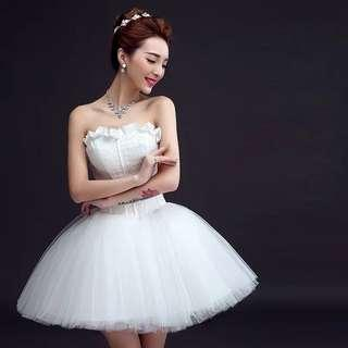 🚚 Short Wedding Dress