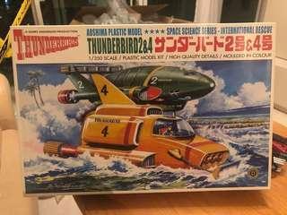 ※  Thunerbirds(雷鳥)-Thunderbirds - 2號機及4號機(1:350)全新,1 盒(請注意內文)