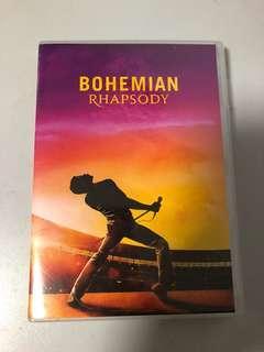 Bohemian Rhapsody DVD Queen Freddy Mercury