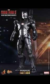 Hot Toys iron man 3 War machine MMS 198 1/6 scale