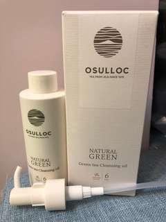 全新OSULLOC 綠茶cleansing oil