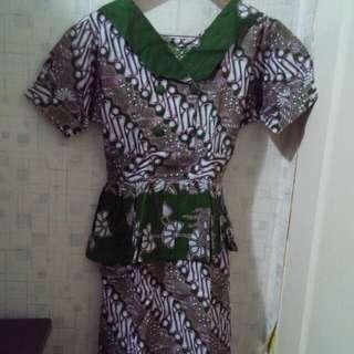 Paketan dress batik 8pcs