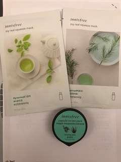 Innisfree Facial Mask