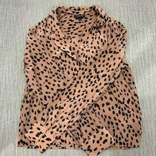 TOPSHOP - leopard long sleeved