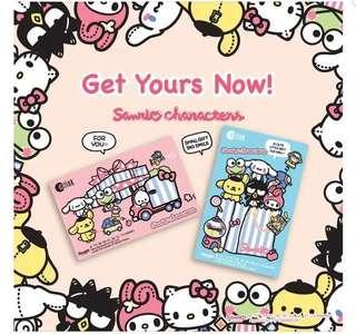 Sanrio Ez linkSanrio limited edition EZ link card