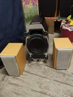 🚚 Sony Subwoofer speakers