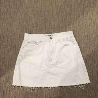GLASSONS - White skirt