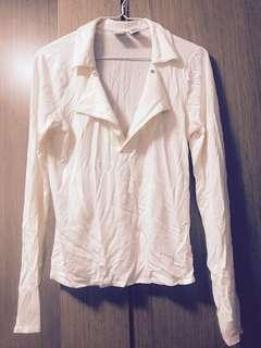 Armani Exchange white top