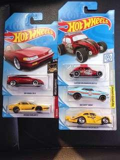 🔥Varieties Hotwheels-crx, fairlady, gulf, mooneyes, vw🔥