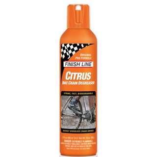 Finishline Citrus Bike Chain Degreaser 12 oz