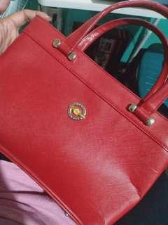 Capacci Red Hand Bag