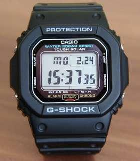 🚚 GSHOCK in TOUGH☀️SOLAR in DIVER SPORTS WATCH : 1-YEAR OFFICIAL WARRANTY : 100% ORIGINAL AUTHENTIC in G-SHOCK : G-5600E-1 / G5600E-1 / DW-5600-1 / CASIO / GSHOCK / WATCH