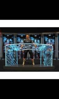 "🚚 1/12 iron man LED test work desk toysbox 6"""