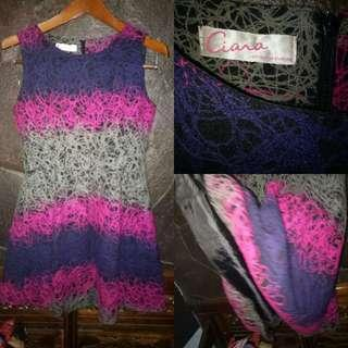 Ciara mini dress unik#dibuangsayang