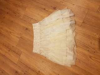 🚚 多層次紗裙短裙