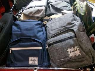 Authentic Blue and white Herschel Bag