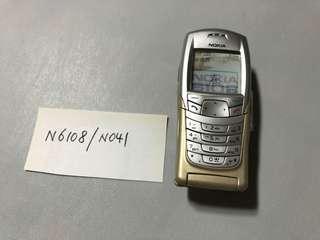 Nokia N6108 - N041 Dummy Phone  原廠手機模型 經典手機型號