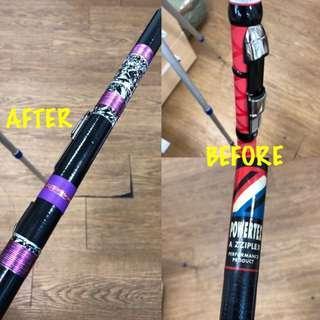 🚚 Repair Fishing rod