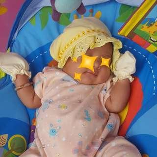 #Shero #jualanaja Topi Bayi Bonet #ibuhebat