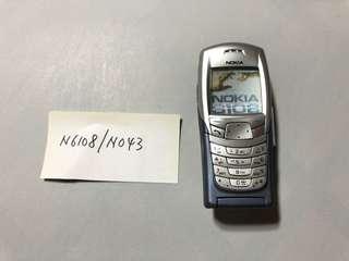 Nokia N6108 - N043 Dummy Phone  原廠手機模型 經典手機型號