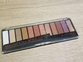 全新 Rimmel Magnif'eyes Eyeshadow Palette, Spice Edition
