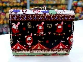🚚 Pre-loved Japan San-x Sentimental Circus Purse with Clip for Coin Compartment
