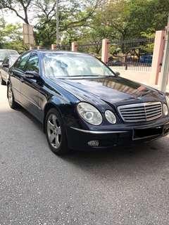 2004 Mercedes Benz e200 k AVANT-GARDE CBU 1.8(a)