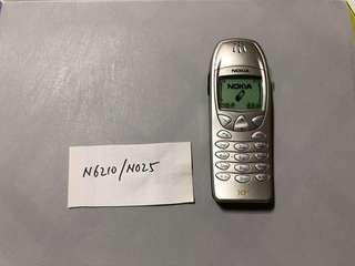 Nokia N6210 - N025 Dummy Phone  原廠手機模型 經典手機型號