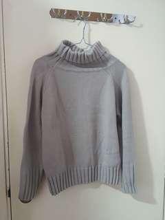 灰色 毛衣