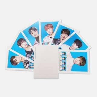 BTS UNOFFICIAL POSTAGE STAMP SEAL SET [THE WINGS TOUR]
