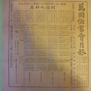 ❤30'年代(萬國儲蓄會)香港客户