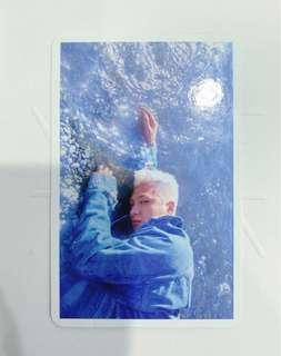 TAEYANG's Photocard from WHITE NIGHT