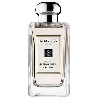 Jo Malone 香水 mimosa & cardamom 含羞草與小豆蔻 cologne 100ml