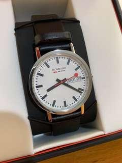 Mondaine classic 36mm watch
