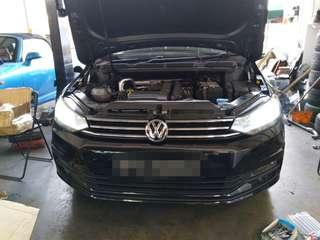 Hid conversion for VW Tiguan