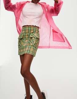 Promo A : Bnwt pull n bear neon geometric skirt