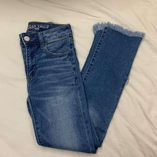 American eagle直筒牛仔褲