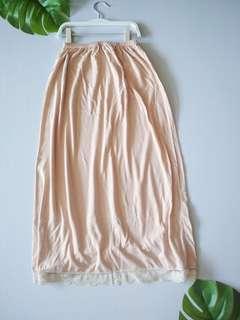 Linning inner skirt #MMAR18 #MAKESPACEFORLOVE