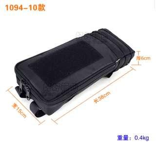 🚚 ***In-Stock = External Battery Bag 38x15x6cm Velcro Tactical 3 Wires Outlet Waterproof