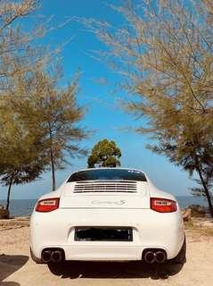 Porsche 911 C2S 997.2 PDK Stock Exhaust