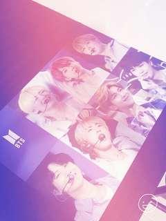 A3 BTS OT7 Posters