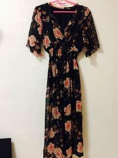 🚚 Rose maxi dinner Long dress