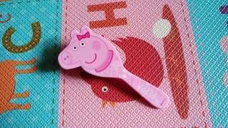 🚚 全新「佩佩豬 Peppa pig」兒童輕量氣墊梳