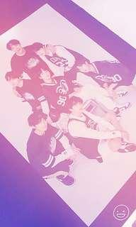 A3 BTS Posters