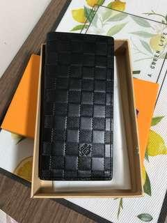 Leather wallet, long wallets