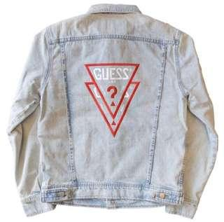 WTS Guess x ASAP ROCKY Denim Jacket