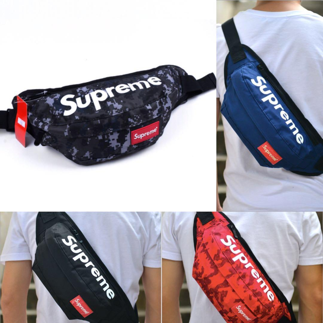 🌟6 COLORS INSTOCK🌟 Supreme Sling Bag / Waist Pouch / Crossbody