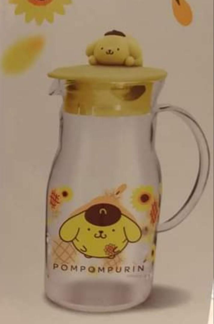 布甸狗玻璃水瓶